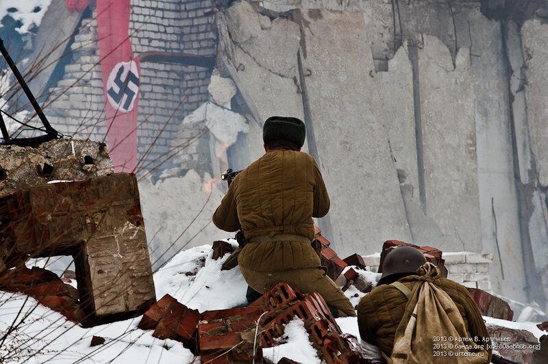 Реконструкция боя. 3 февраля