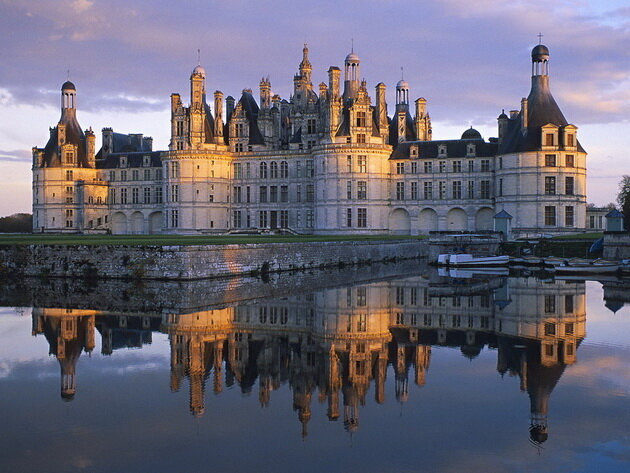 Замок Шамбор. Франция