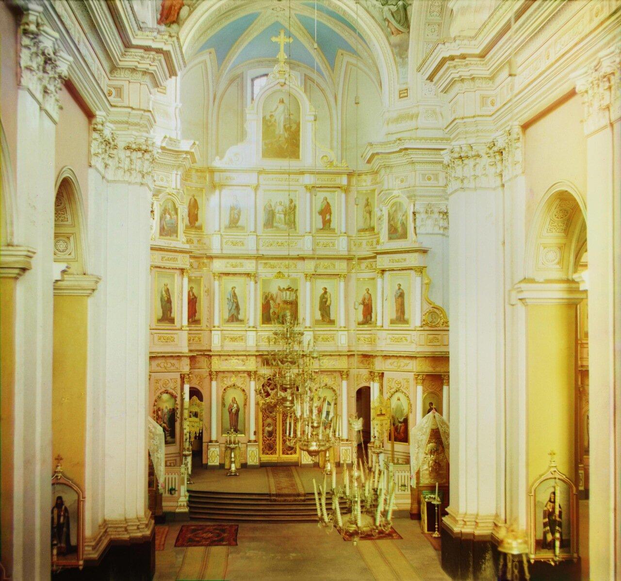 Витебск. Иконостас в Успенском соборе. 1912