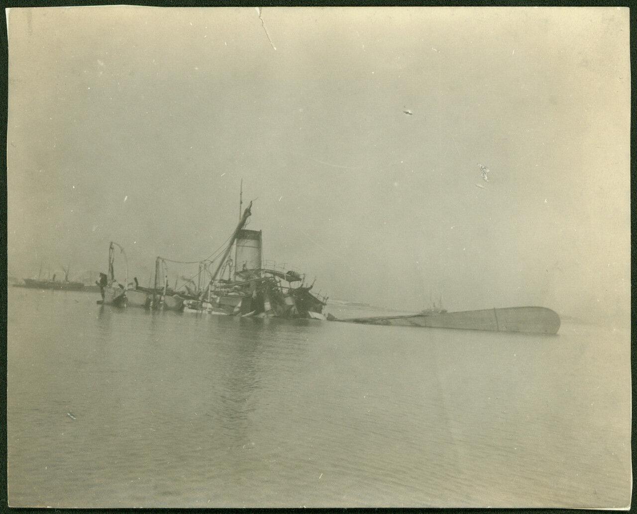 Канонерская лодка «Кореец», взорванная в Чемульпо