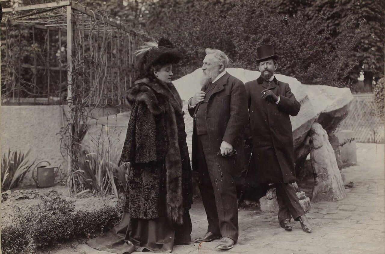 Элеонора Дузе (1858-1924), Огюст Роден (1840-1917), Арманд Дейо (1851-1934).