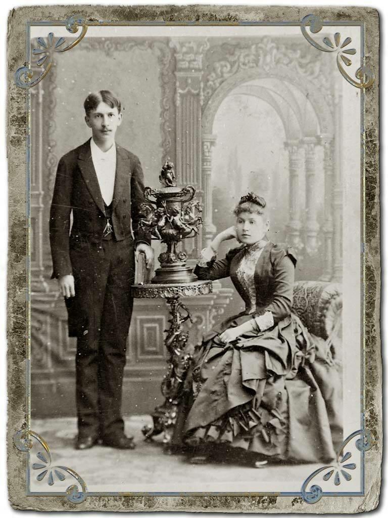 И.Я. Кункин с супругой