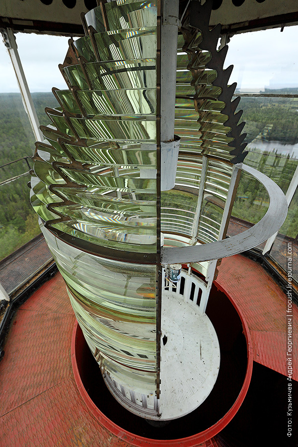 маяк на Секирной горе Соловки