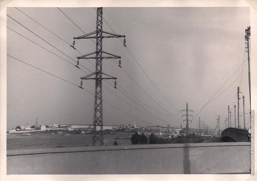 Казань. Вид на Кремль. Фотография 1965 года