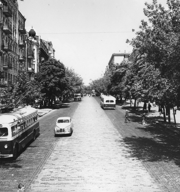 1960. Улица Красноармейская