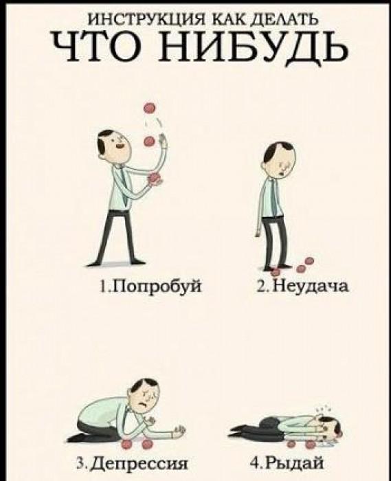Инструкция как делать что-нибудь
