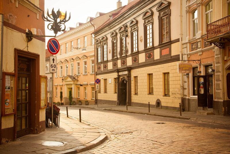 Dominikonų str. - Pociejai Palace