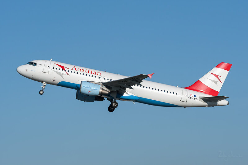 Airbus A320-214 (OE-LBQ) Austrian Airlines DSC7101