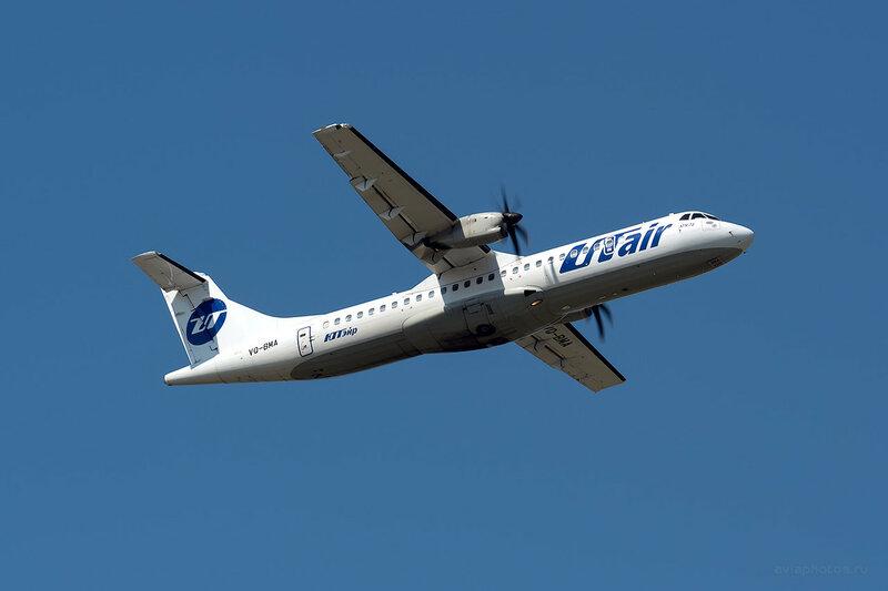 ATR 72-212A (VQ-BMA) ЮТэйр D809510