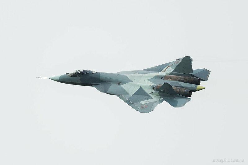 Сухой Т-50 ВКС России 061_D804121