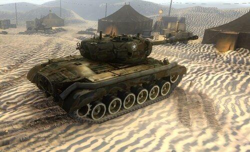 Шкурка для танка Першинг