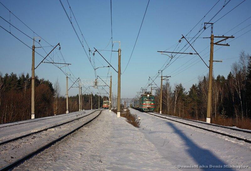 Электровозы ВЛ10у-916 и ВЛ10-469