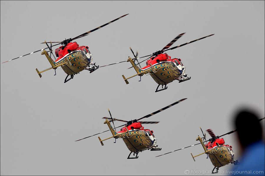 вертолётная пилотажная группа ВВС Индии