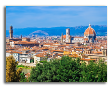 Италия. Флоренция. Beautiful panoramic view of Florence, Italy. Фото sailorr - Depositphotos