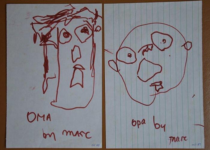 Эволюция художника от 2 до 25 лет