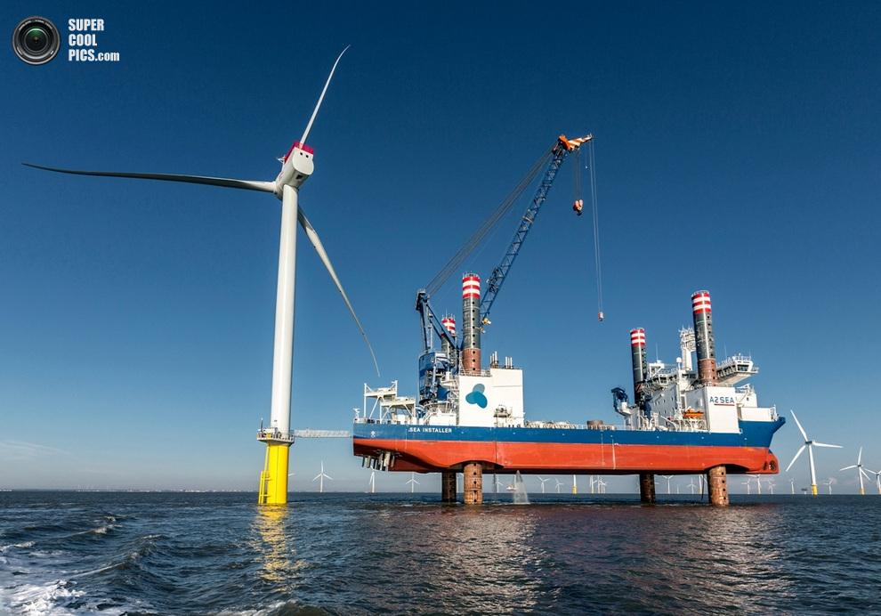 Die Zukunft der Offshore-Windenergie hat begonnen / The future of offshore wind energy has begun
