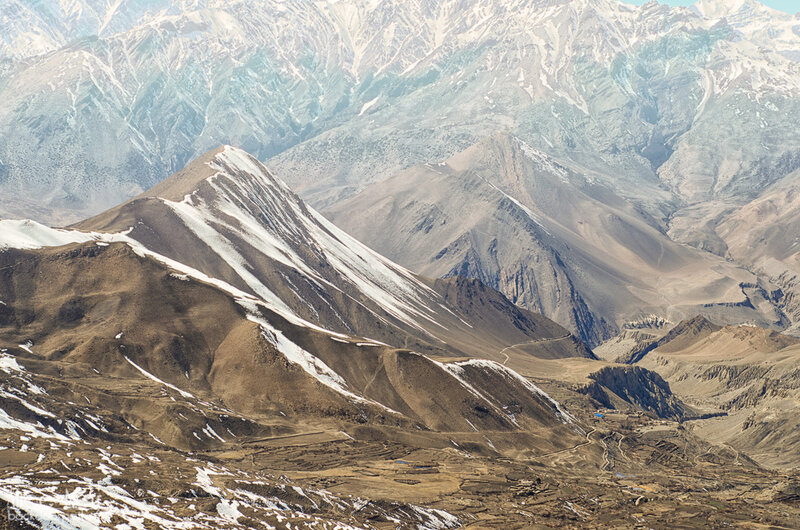 гималаи, муктинатх, непал. горы
