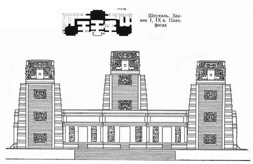 Общественное здание в Шпухиле, чертежи