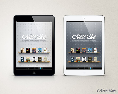 Netcribe: iPad Mini PSD