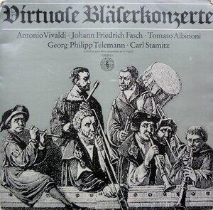 Deutsche Bachsolisten – Virtuose Bläserkonzerte (1966) [Orbis, 75 275]