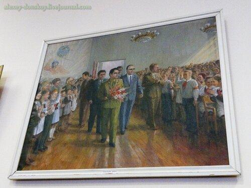 Школа №10 носит имя космонавта №3 Андрияна Николаева