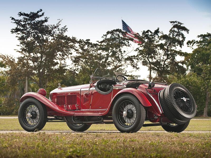 Alfa-Romeo-6C-1750-GS-Parigi-1929 - 1933