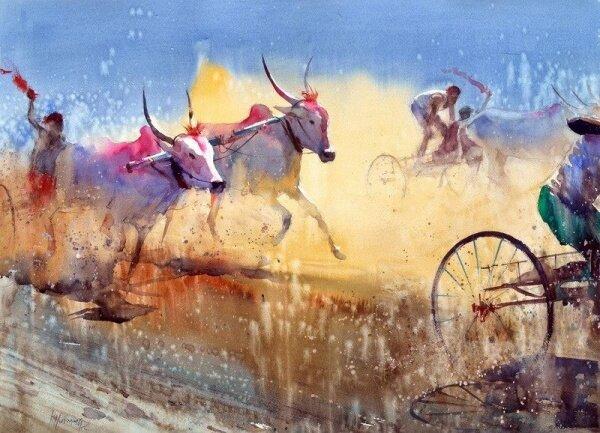 Итоги третьего конкурса 5a8Международного Акварельного Общества | International Watercolor Society | IWS 2012-2013
