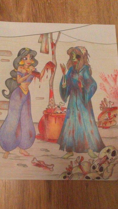 Милые книжки раскраски, которые уничтожили наше детство