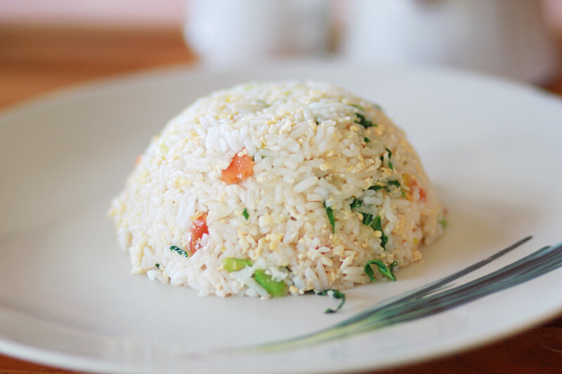 Как приготовить рис с креветками по-тайски