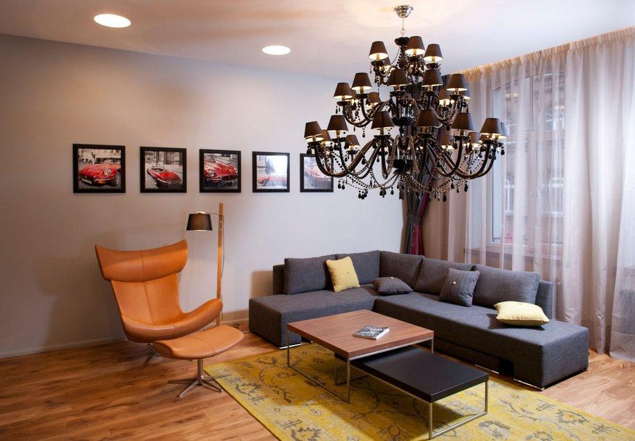 Однокомнатная квартира-студия в Риге