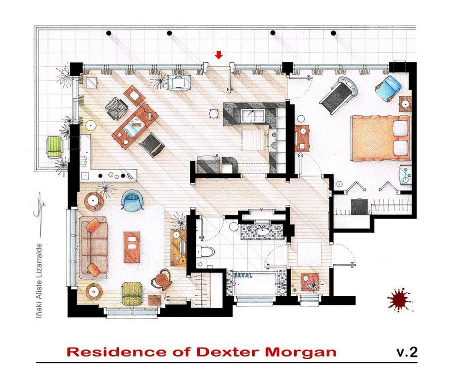 Квартира Декстера Моргана из сериала «Декстер»