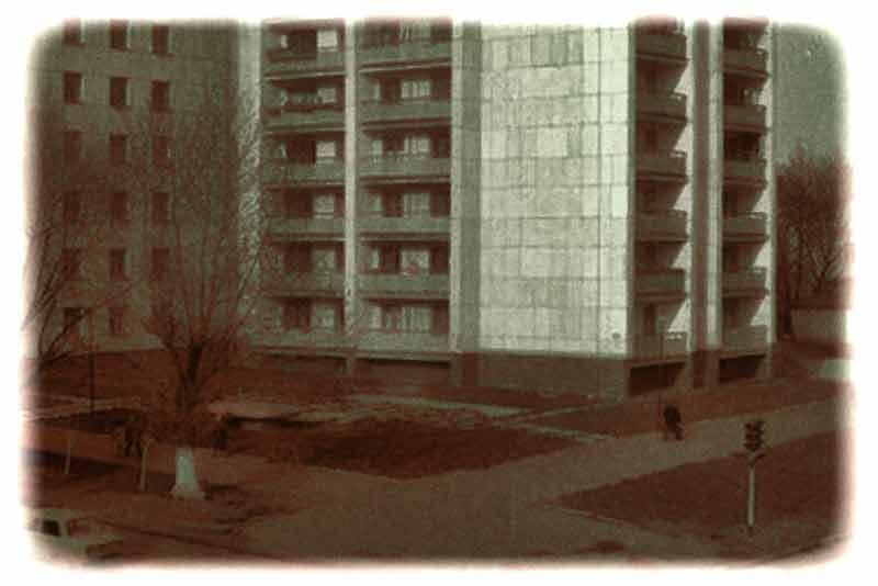 Белгород, фонтан на перекрестке ул. Кирова и Коммунистической