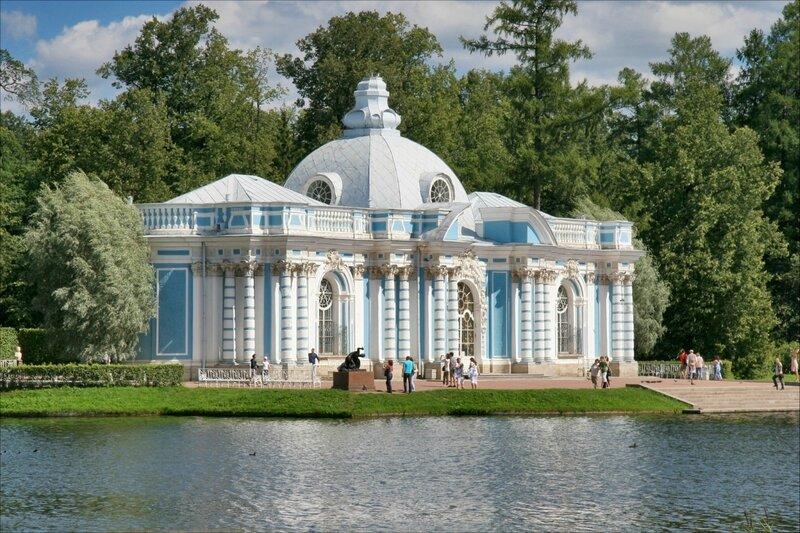 Царское Село, павильон Грот в Екатерининском парке