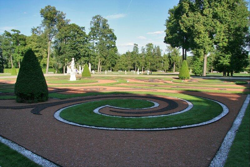 Царское Село, Партер в Голландском саду Екатерининского парка