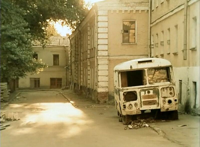"""Хитровка. Кадры из фильма """"За последней чертой"""".  1991."""