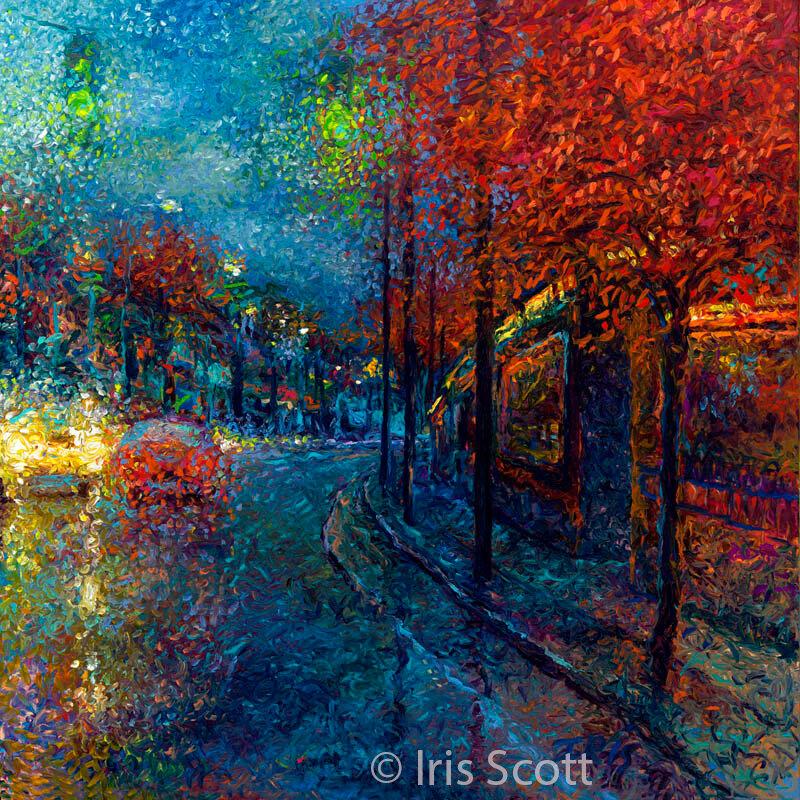 Я видела осень… На улице было дождливо…Айрис Скотт (Iris Scott)