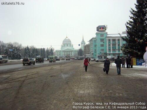 Курск, зима