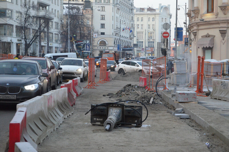 Репортаж из платных парковок: -20, хаос, местов нет, плитка... короче, ДУРДОМ:)