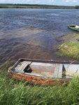 речка Бурная, на месте бывшей переправы