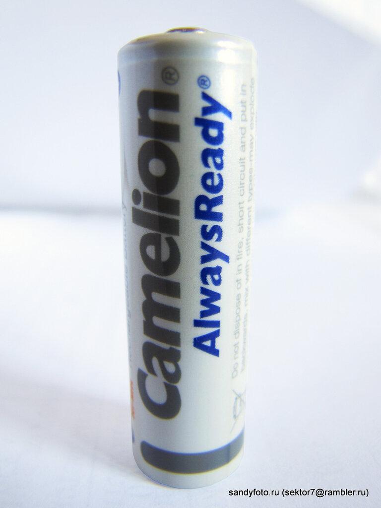Обзор аккумулятора Camelion AlwaysReady 2500 mA