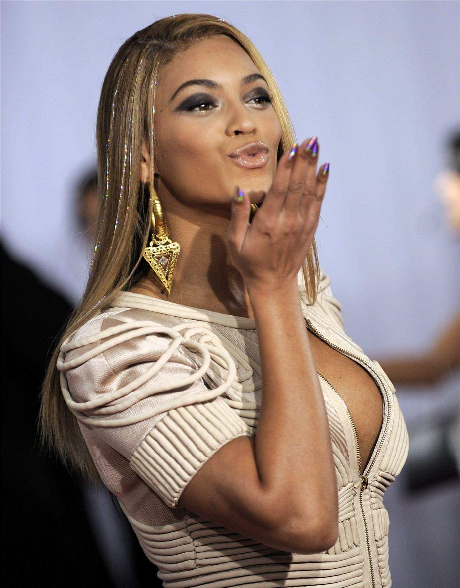 поцелуй звезды / воздушный поцелуй от Бейонси / Beyonce