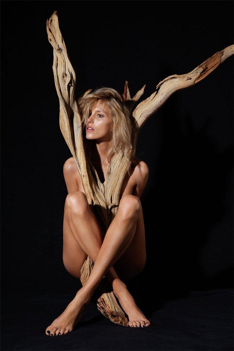 Anja Rubik / Аня Рубик в проекте Естественная красота / Natural Beauty by James Houston