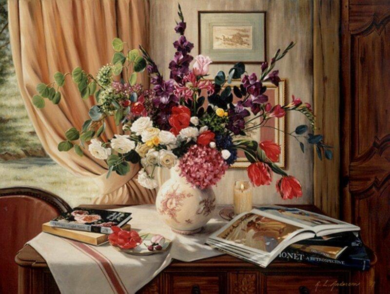 американская художница Robin Lucile Anderson