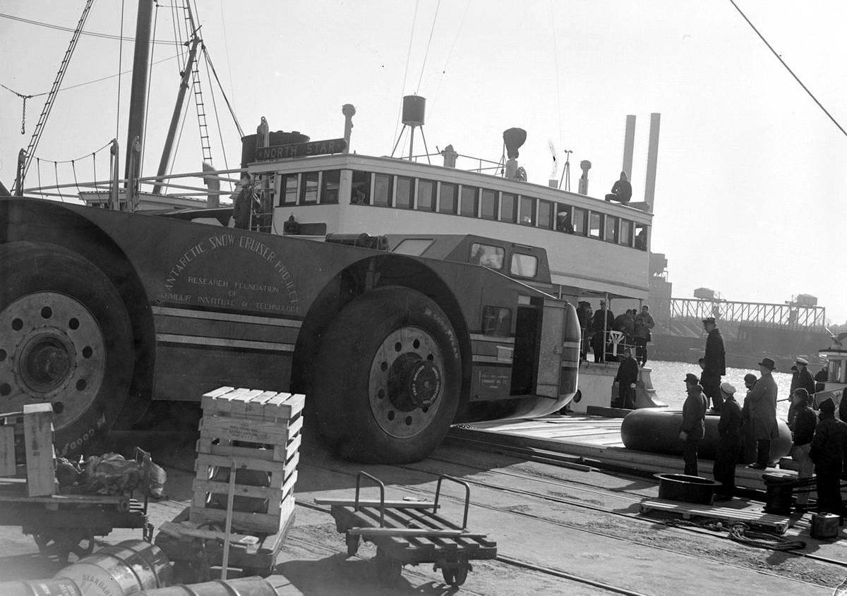 Снежный крейсер: История одного неудачного американского проекта по исследованию Арктики (1939 год) (12)