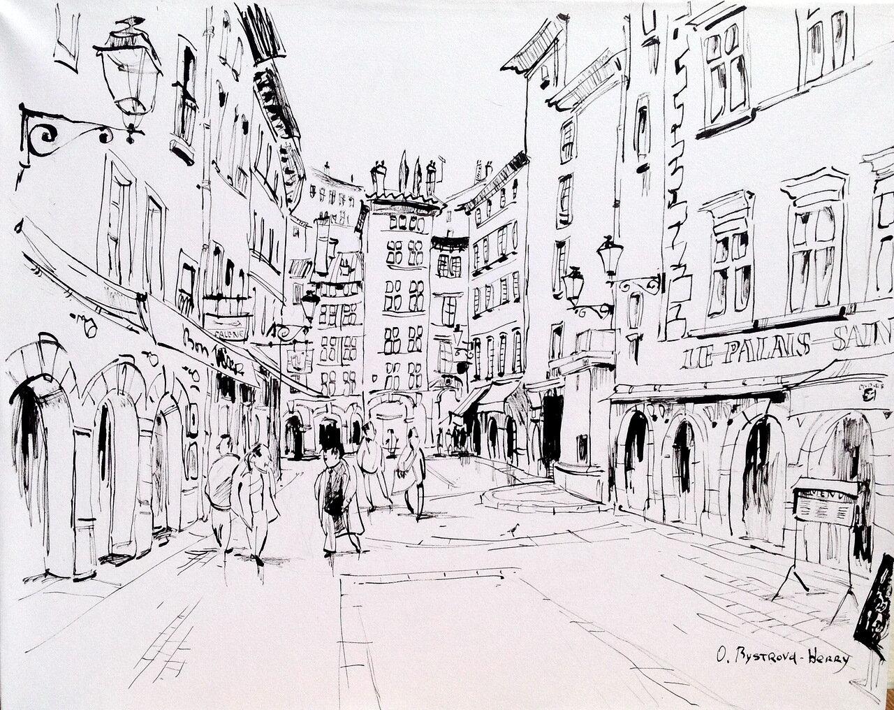 006. Lyon. Rue St Jean