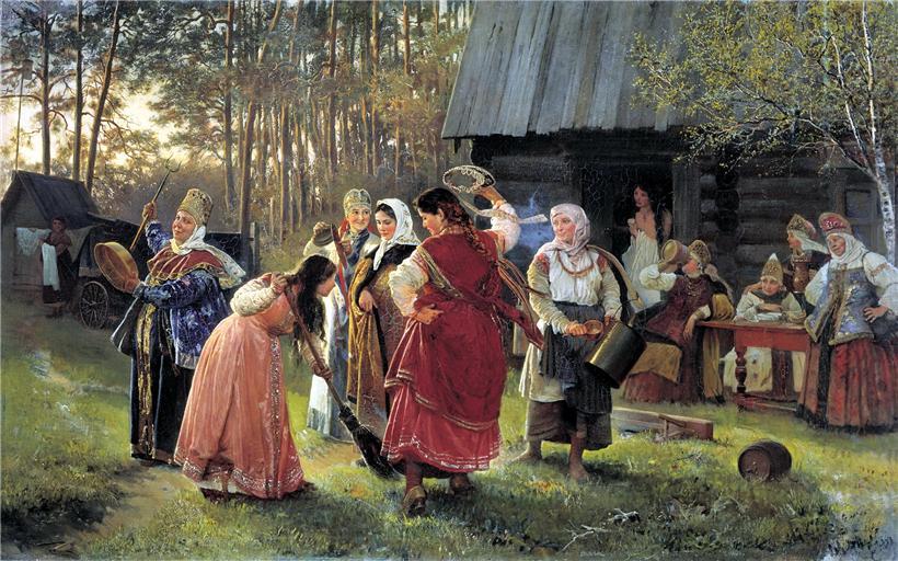 День из жизни русская пара