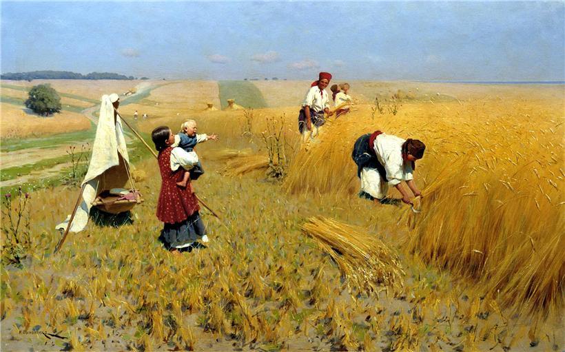 того, что работа на поле в украине Дакайн отводит