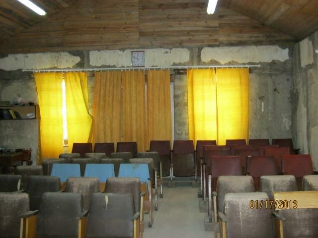 Строящийся дом молитвы церкви в Кировске