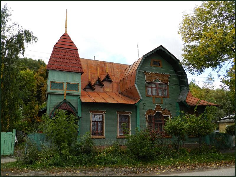 Возрождение русского стиля! Интерьер бревенчатого дома