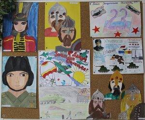 "Конкурс рисунков ""Служу Отечеству"""